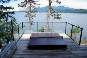 Jacuzzi Deck Extension